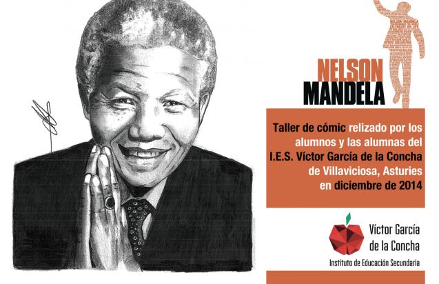 Taller de cómic sobre Nelson Mandela