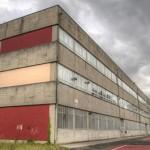 Vista del Patio y Edificio A