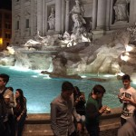 .. más de la Fontana de Trevi.