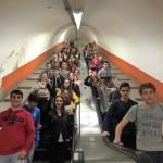 Bajando al metro