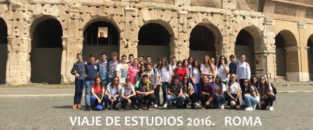 Viaje de Estudios 2016. ROMA