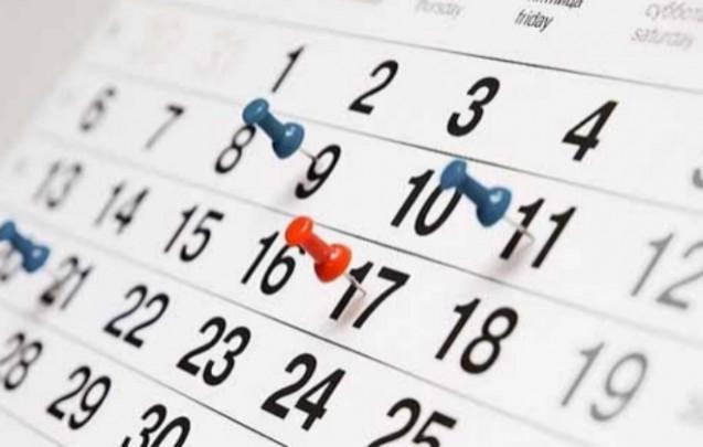 Calendario SEPTIEMBRE 2017