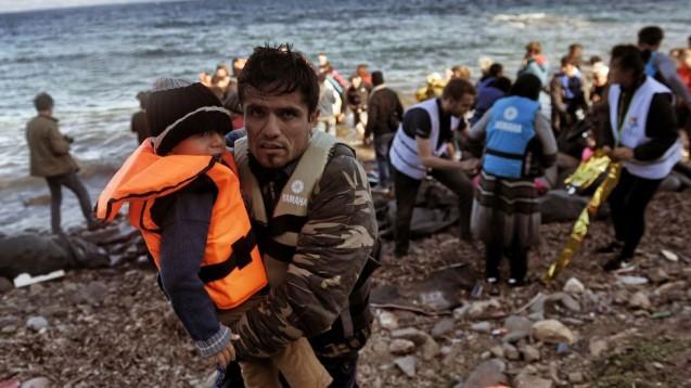 «Brazos abiertos» en el Instituto. Refugiados en Lesbos