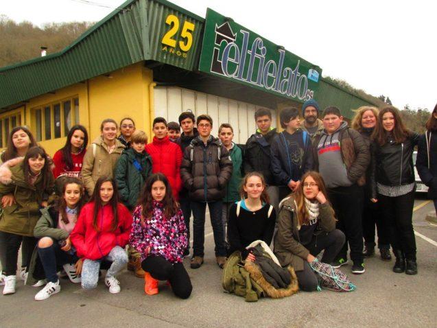 Visita a El Fielato y el Aula de la Monarquía Asturiana (Dpto. Lengua)