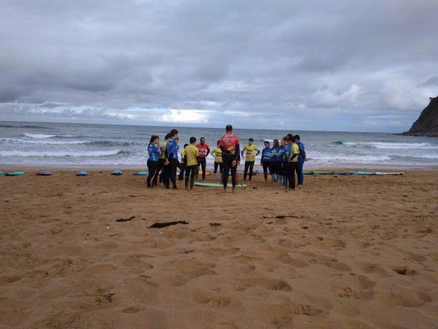 Bautizo de Surf en Rodiles