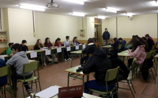 Gymkana matemática 2017
