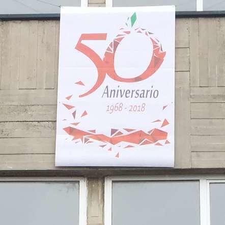 La Pancarta del 50 Aniversario