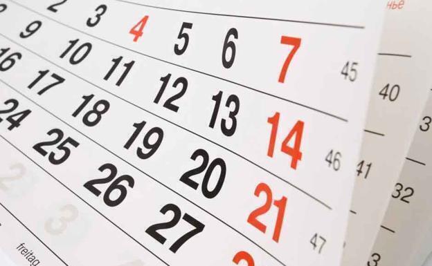 Calendario FIN de CURSO 1ºBach – ESO