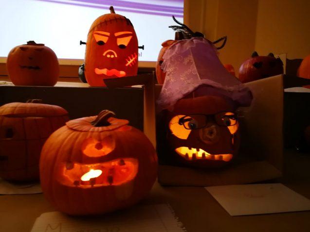 Tiempo de Halloween, tiempo de calabazas