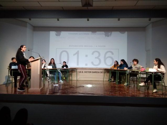 II Liga de Debates del Principado. Fase del Centro