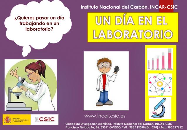 Actividad «Un día en el laboratorio» INCAR – CSIC