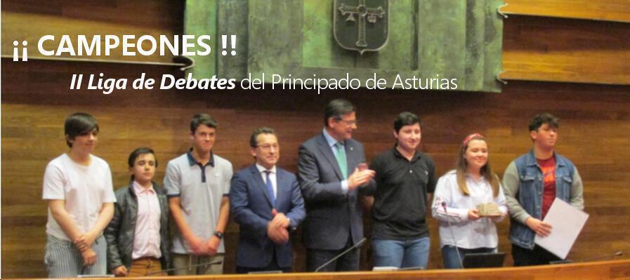 GANADORES. II Liga de debates