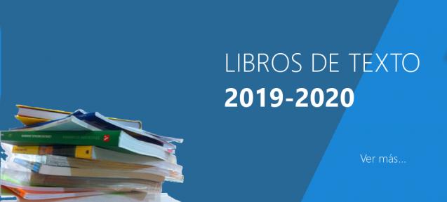 Libros de texto 2019 – 2020