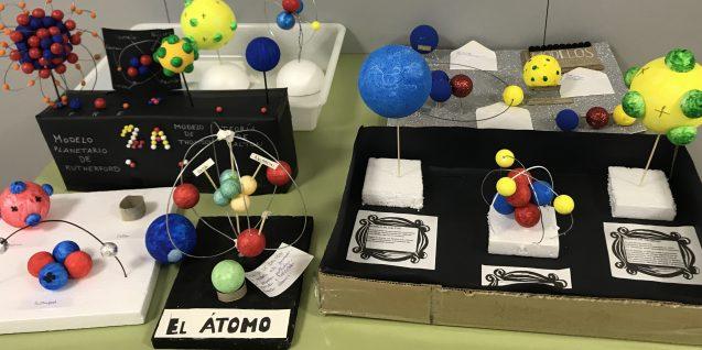 Atómicos modelos