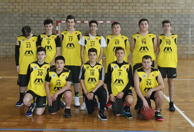 Equipo Cadete de Baloncesto IES Víctor García de la Concha